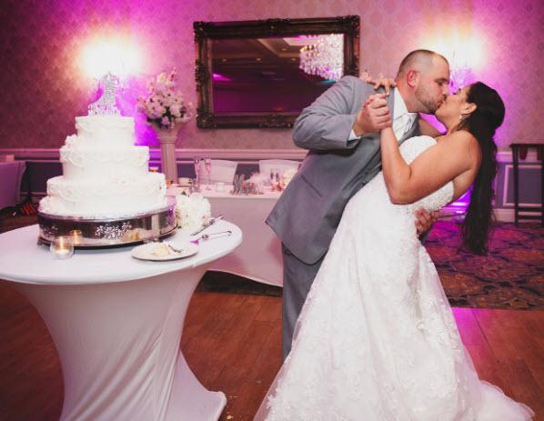 Crystal Ballroom Cake Cutting